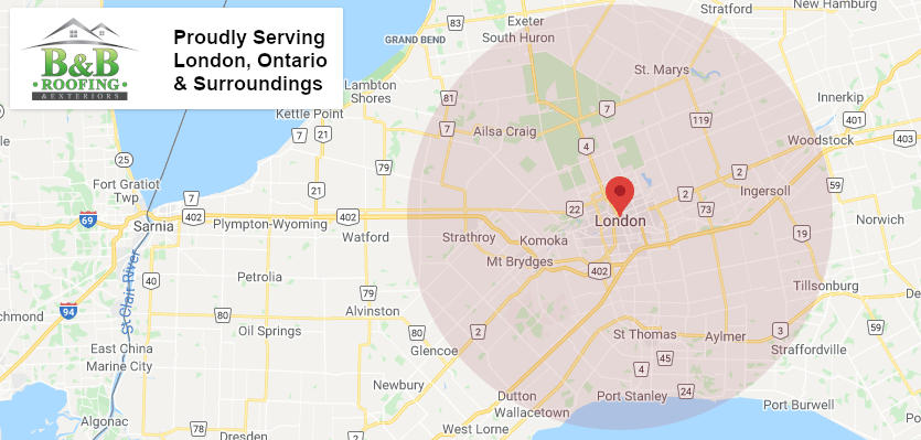london ontario, st. thomas ontario, aylmer ontario, and surrounding area roof repair, roof maintenance, roof installation, exterior renovations