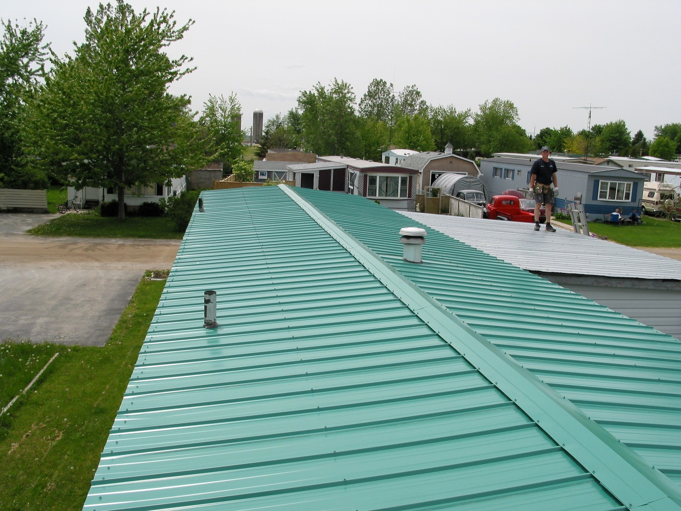 Gallery Of Roofing Work B Amp B Roofing And Exteriors