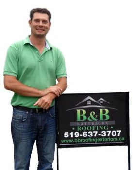 bernie fehr - owner b&b roofing and exteriors
